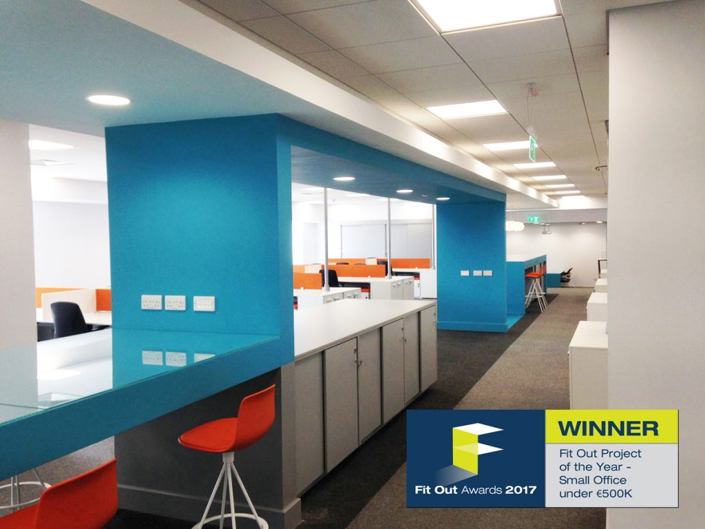 Building contractors for Fit Out Award 2017