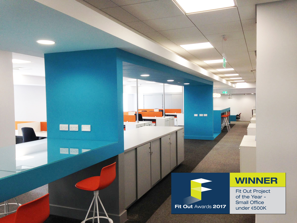 Bawn Developments Ltd. builders of a winning Fit Out